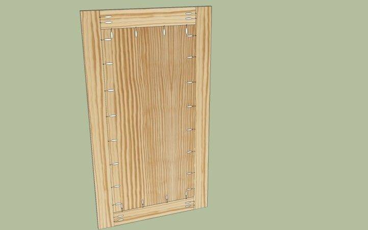 Build Cabinet Hide Way Doors