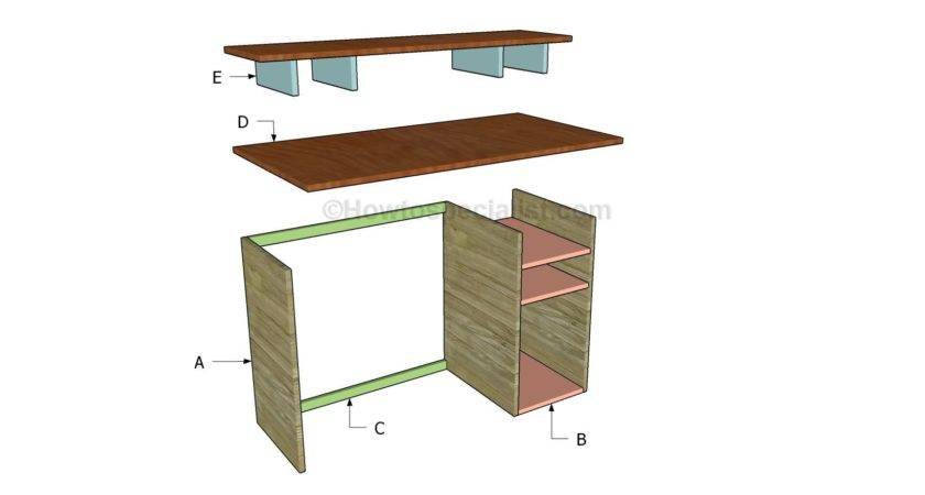 Build Computer Desk Plans Discover Woodworking Projects