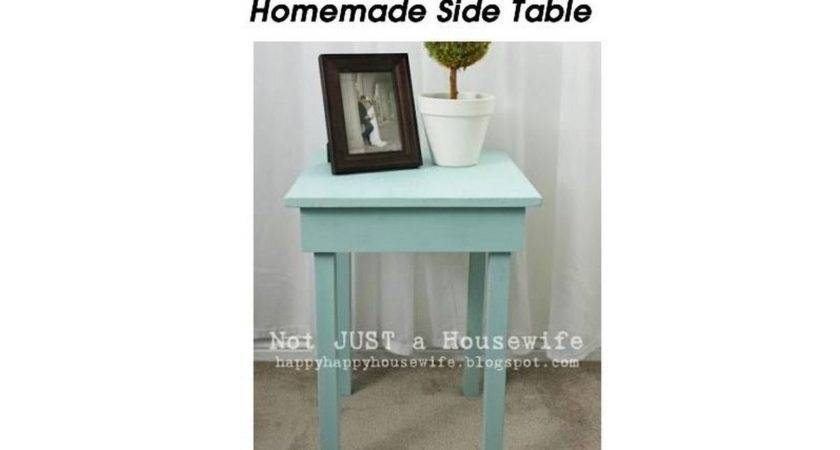 Build Cute Homemade Side Table