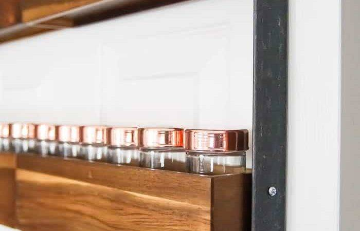 Build Diy Spice Rack Alltopex