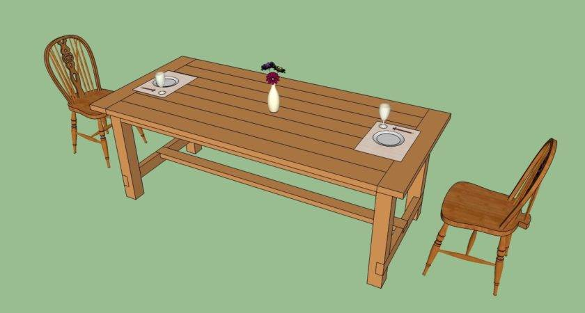 Build Farmhouse Table Howtospecialist