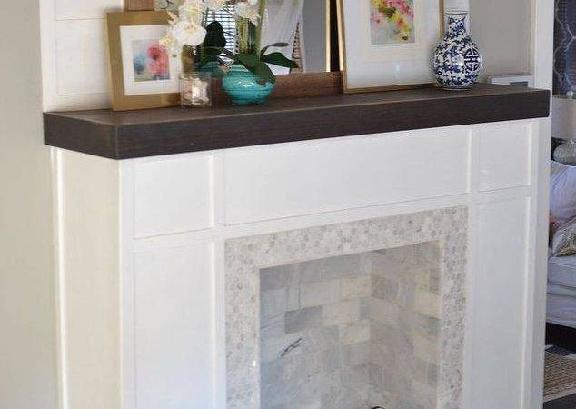Build Faux Fireplace Hometalk
