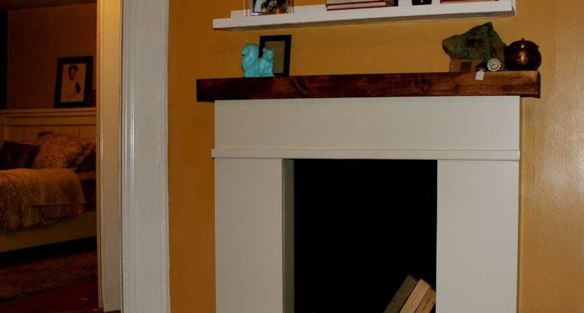 Build Faux Fireplace Mantel Cool New Making