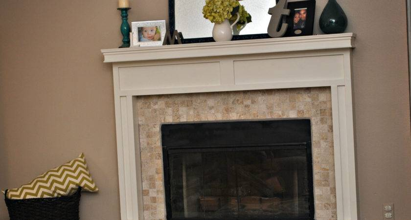 Build Fireplace Mantle Surround Phase