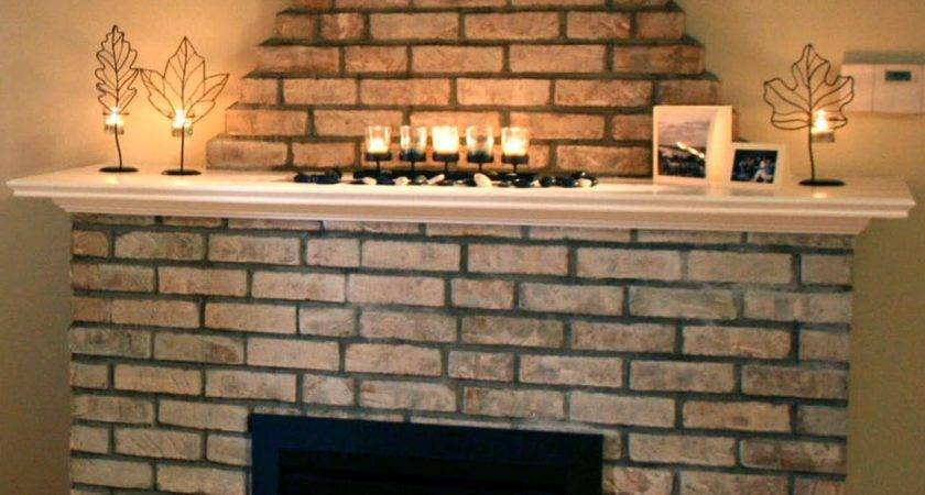 Build Fireplace Surround Over Brick