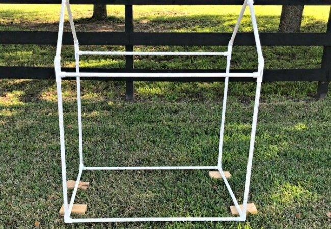 Build Fun Easy Kids Pvc Pipe Tent Abbotts Home