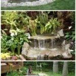Build Garden Waterfall Pond Diy Tag