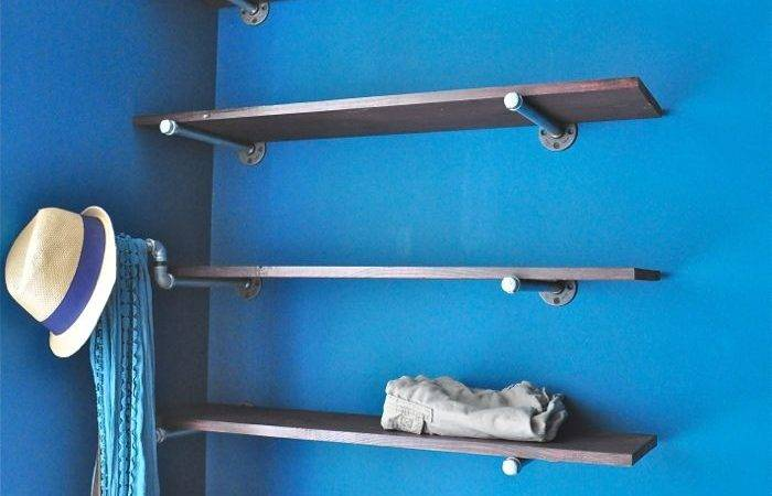 Build Industrial Plumbing Pipe Closet Organizer
