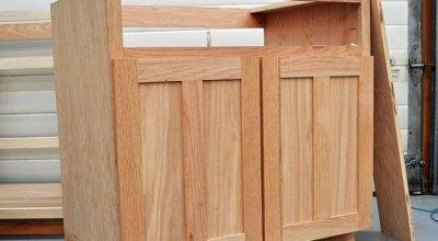 Build Kitchen Cabinet Doors Plywood Wooden