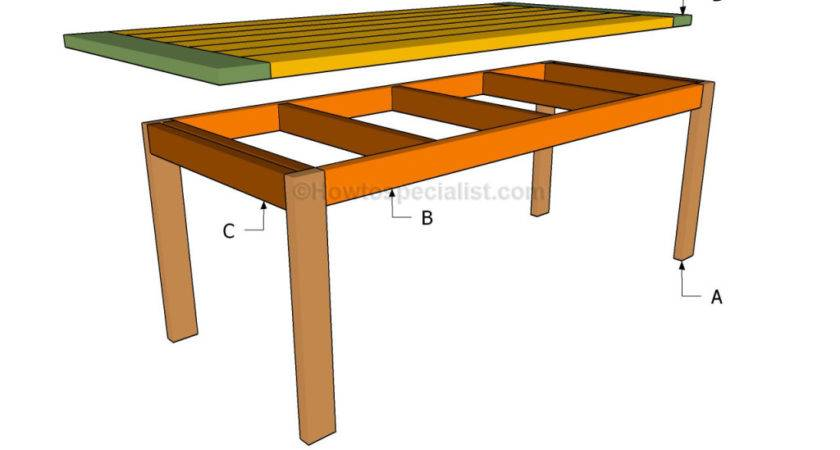 Build Kitchen Table Howtospecialist