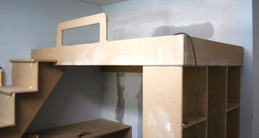 Build Loft Bed Desk Underneath Hgtv