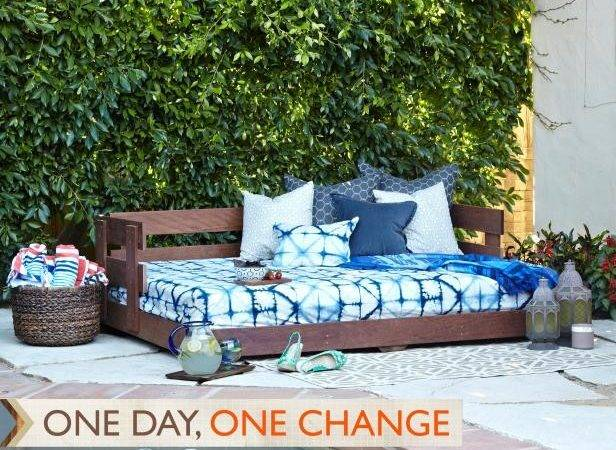 Build Lounge Worthy Outdoor Daybed Hgtv