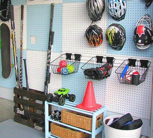 Build Pegboard Wall Clean Scentsible