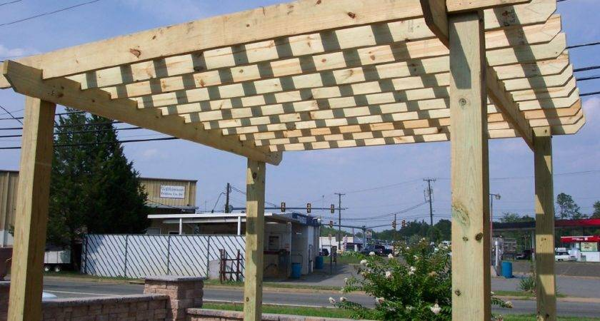 Build Pergola Ask Landscape Guy