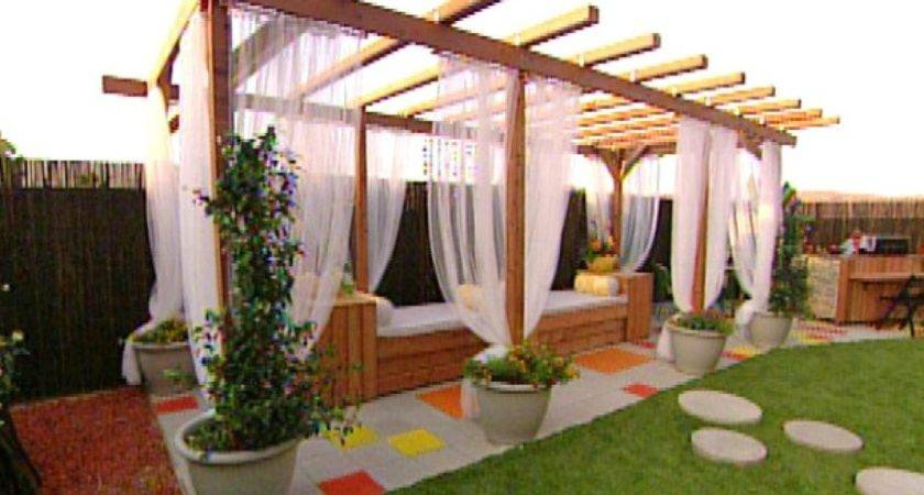 Build Pergola Deck Patio Hgtv