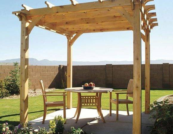 Build Pergola Step Diy Building