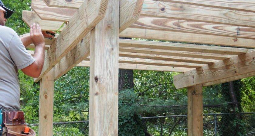 Build Pergola Tos Diy