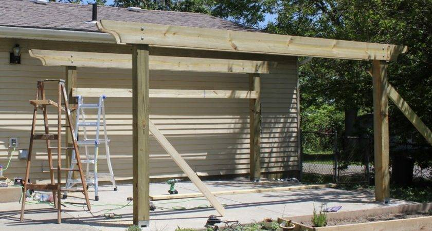 Build Pergola Two Days Budget Detailed