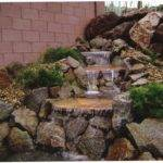 Build Pond Waterfall Diy Ideas House Exterior