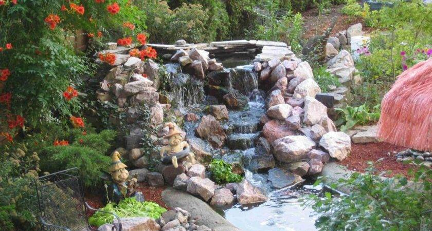 Build Pond Waterfall Easy Steps