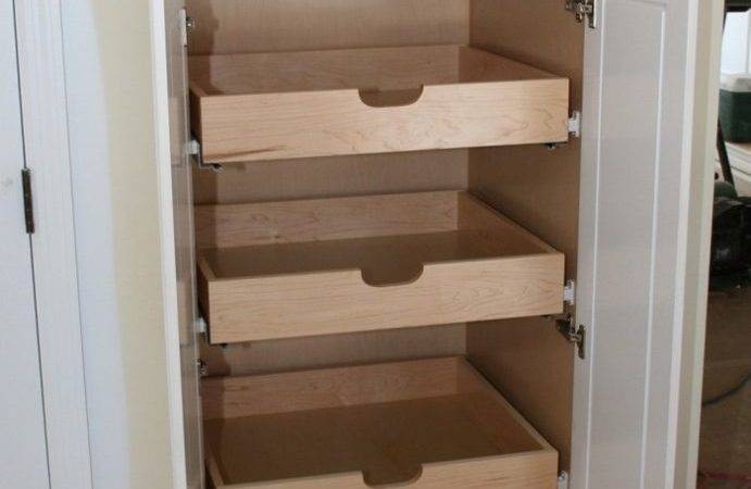 Build Pull Out Pantry Shelves Diy Projects