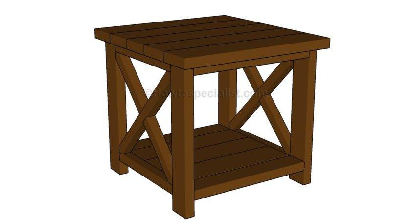 Build Simple End Table