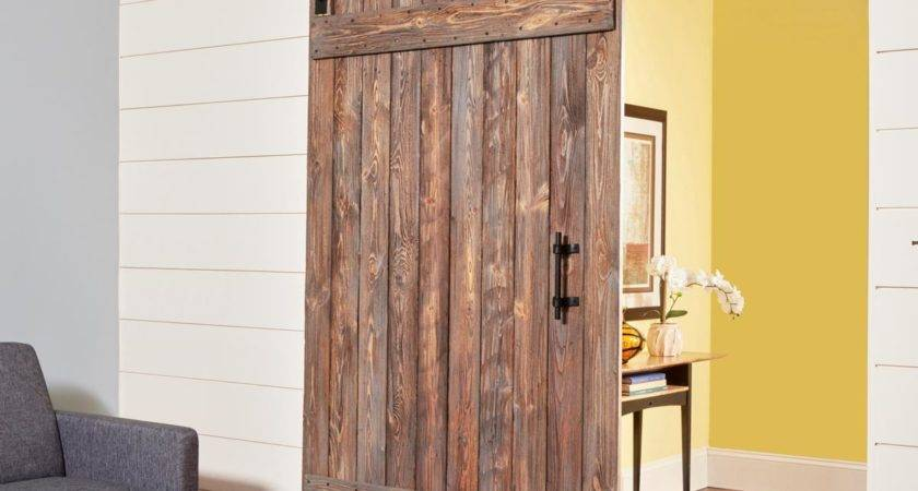 Build Simple Rustic Barn Door Handyman