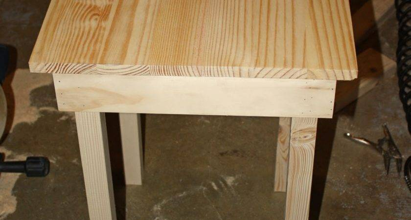 Build Simple Side Table Stacy Risenmay