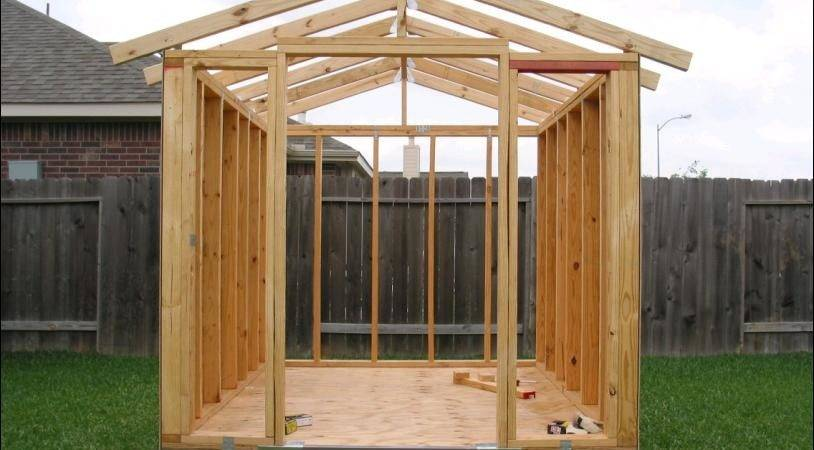 Build Simple Storage Shed Woodworking Plans