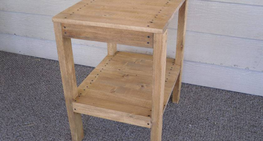 Build Simple Wood End Table Discover Woodworking
