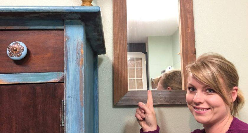 Build Simple Wood Mirror Frame Youtube
