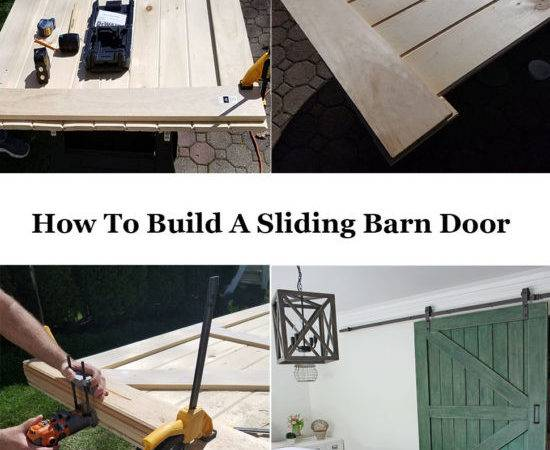 Build Sliding Barn Door Less Honeycomb Home