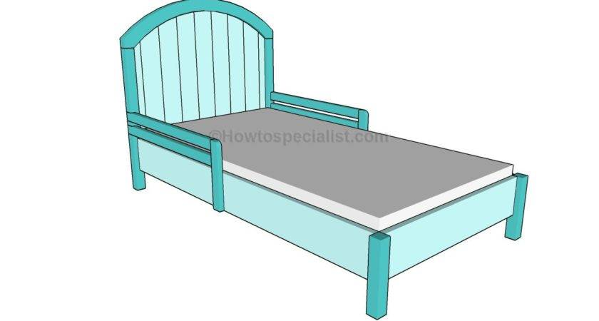 Build Toddler Bed Howtospecialist