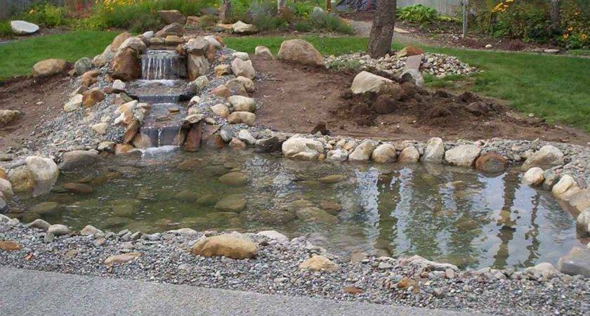 Build Waterfall Clearwater Ponds Water Gardens
