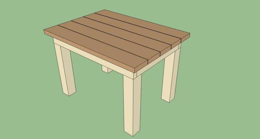 Build Wood Outdoor Table Pdf Woodworking