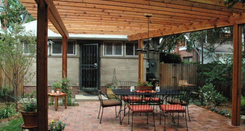 Build Wood Pergola Hgtv