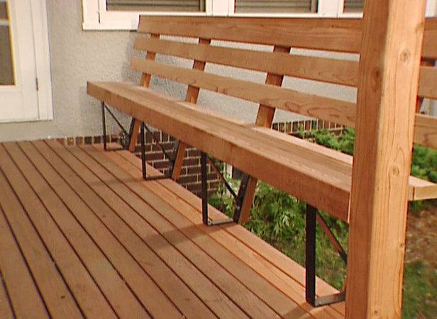 Build Wooden Deck Benches Blog