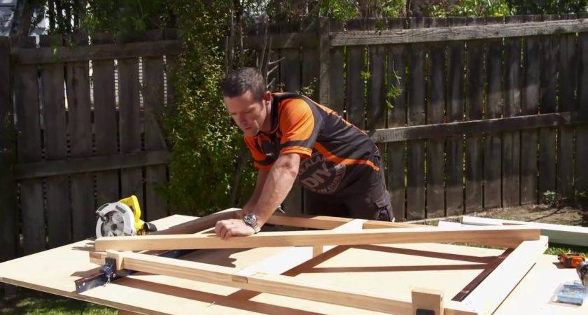 Build Wooden Gate Mitre Easy Youtube