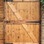 Build Wooden Gate Your Yard