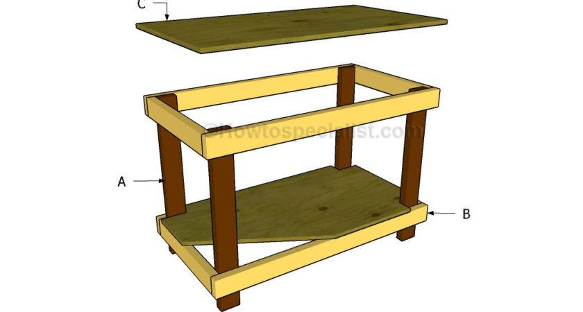 Build Work Table Howtospecialist