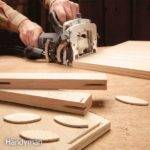 Building Cabinets Biscuit Joints Handyman