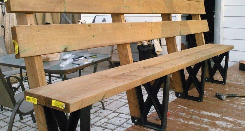 Building Deck Bench Brackets Madness Method