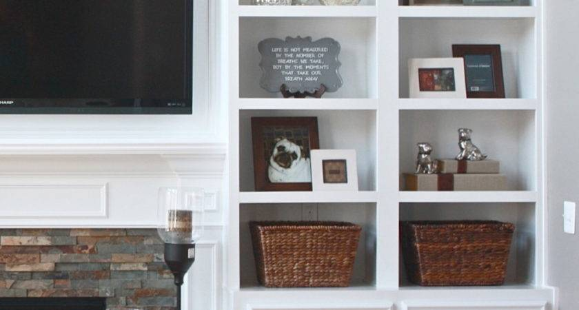 Building Fireplace Mantel Cabinets Pinterest
