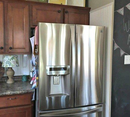 Building Fridge Cabinet Top Thrifty