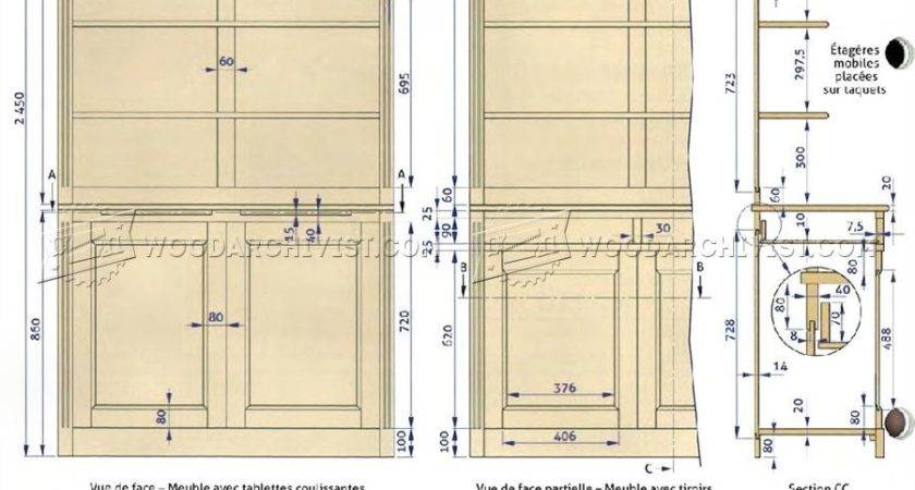 Building Wood Bookcase Wooden Furniture Plans