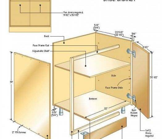 Buildingbasecabinets Illustration