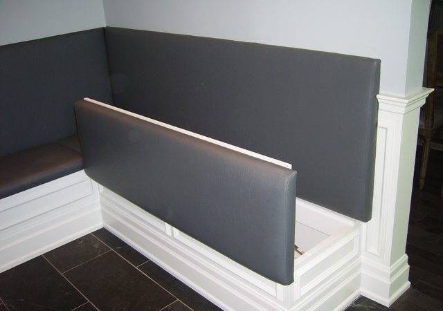 Built Banquette Contemporary Dining Room Toronto