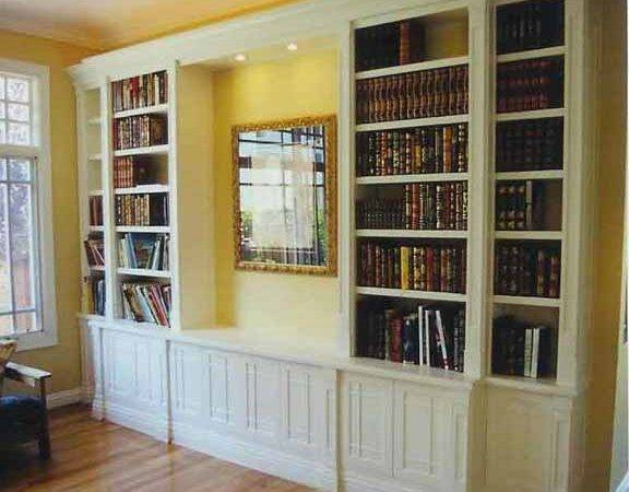 Built Bookcase Plans Woodworker Magazine