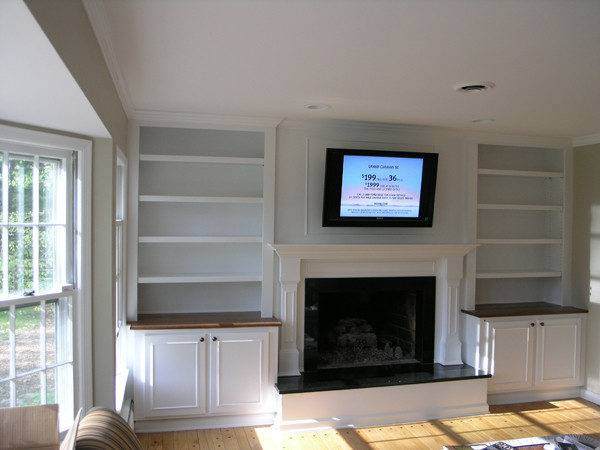 Built Bookcases Around Fireplace Best Cars