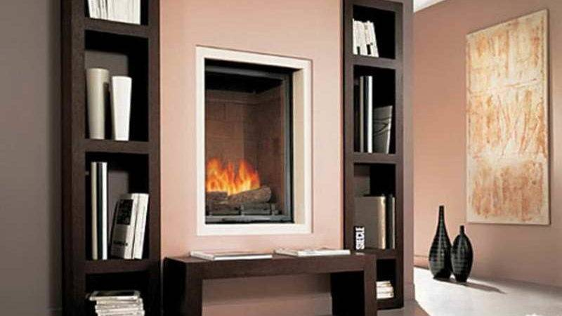 Built Bookcases Around Fireplace Plans Design Trends
